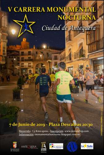 V Carrera Monumental Nocturna Ciudad de Antequera