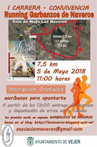 Carrera I Running Garbanzos de Naveros