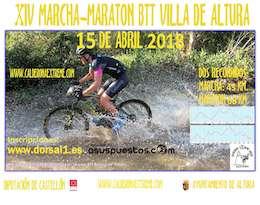 XIV Maratón BTT Villa de Altura