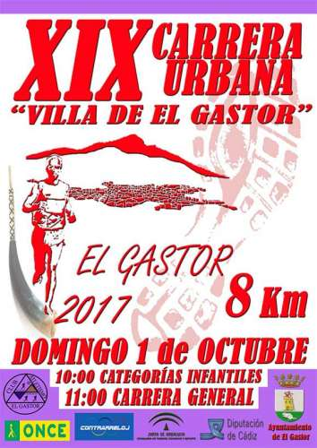 XIX Carrera Urbana Villa de El Gastor