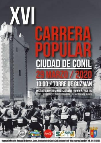 XVI Carrera Popular Ciudad de Conil