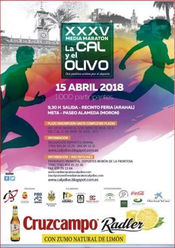 Carrera XXXV Media Maratón la Cal y el Olivo