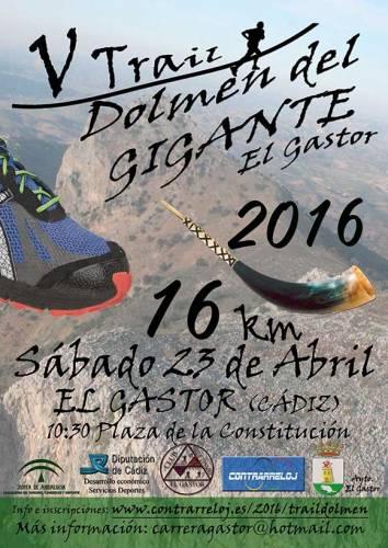 Carrera V Trail Dolmen del Gigante