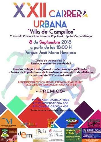 XXII Carrera Urbana Villa de Campillos