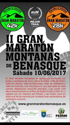 II Gran Maraton de Montañas de Benasque 42k