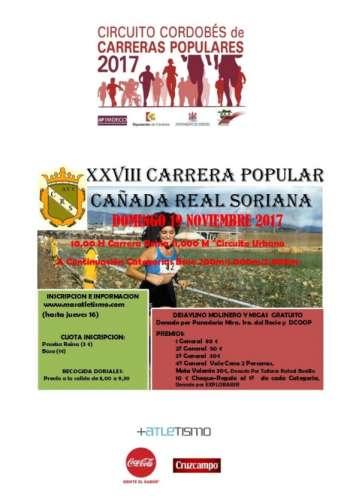 XXVIII Carrera Popular Cañada Real Soriana