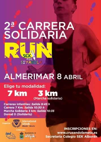 II Carrera Solidaria Run SEK for SiyaKula