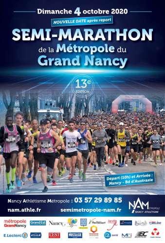 13 Medio Maratón de la Métropole du Grand Nancy