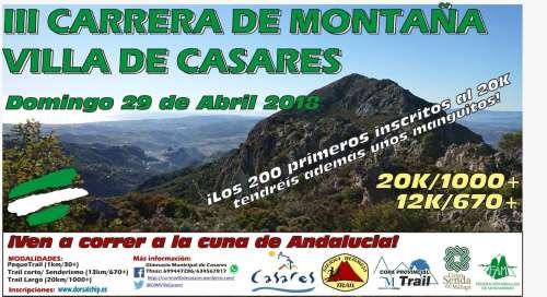 III Carrera de Montaña Villa de Casares