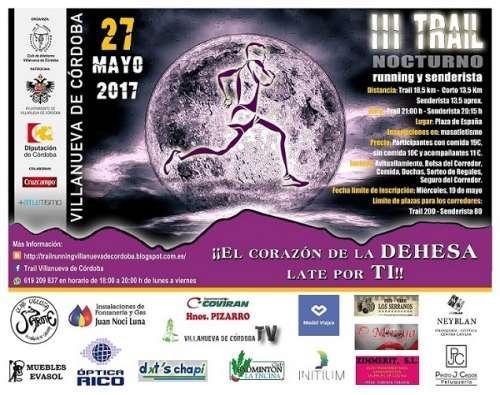 III Trail Nocturno Villanueva de Córdoba