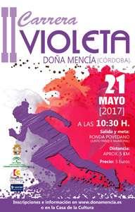II Carrera Violeta Doña Mencía