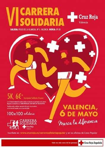 VI Carrera Solidaria de Cruz Roja
