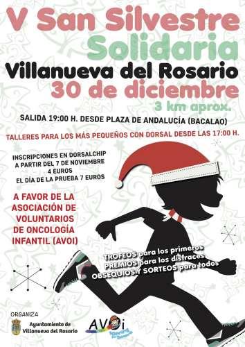 V San Silvestre Solidaria Villanueva del Rosario