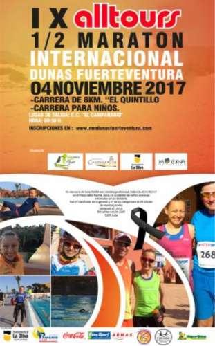 IX ALLTOURS Media Marathon Internacional Dunas de Fuerteventura