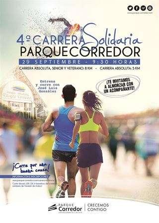 4ª Carrera Solidaria en Parque Corredor