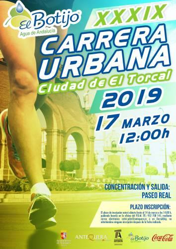 XXXIX Carrera Urbana El Botijo de Andalucía Ciudad de el Torcal