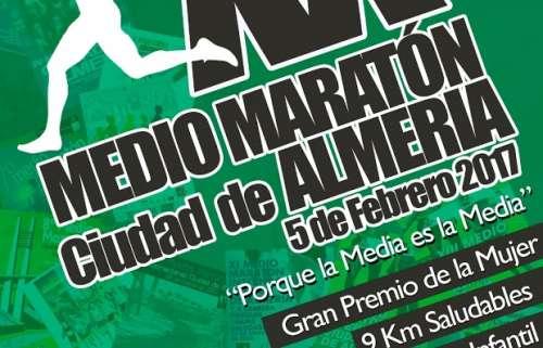 Carrera XX Medio Maratón Ciudad de Almería
