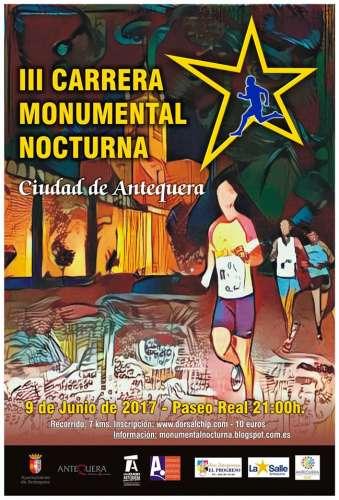 III Carrera Monumental Nocturna Ciudad de Antequera