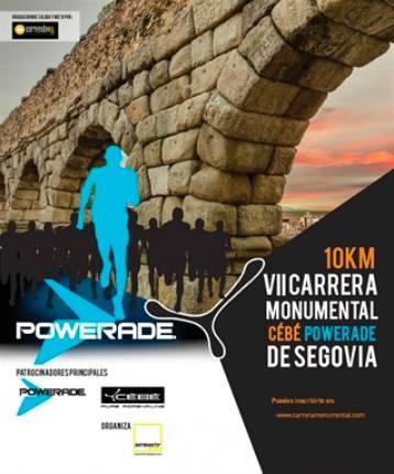VIII Carrera Monumental Cébé-Powerade ciudad de Segovia
