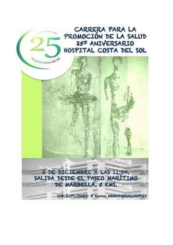 Carrera para la Promoción de la Salud 25º Aniversario del Hospital Costa del Sol