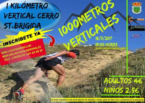Carrera I Kilómetro Vertical Cerro St. Brigida