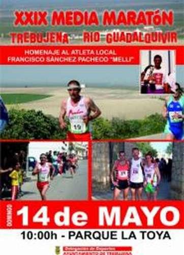 XXIX Media Maratón Trebujena Río Guadalquivir