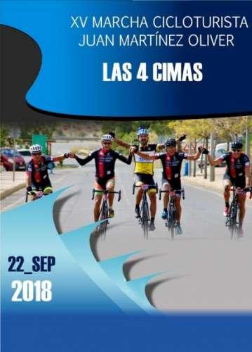 Carrera XV Marcha Cicloturista Juan Martínez Oliver Las 4 Cimas