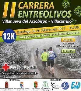 II Carrera Villanueva del Arzobispo y Villacarrillo - Entre Olivos