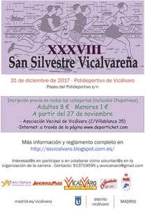 XXXVIII San Silvestre Vicalvareña