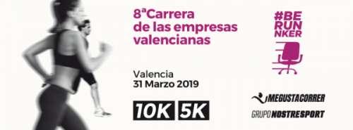 VIII Carrera de las Empresas valencianas