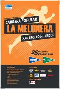 Carrera Popular de la Melonera. XXII Trofeo Hipercor