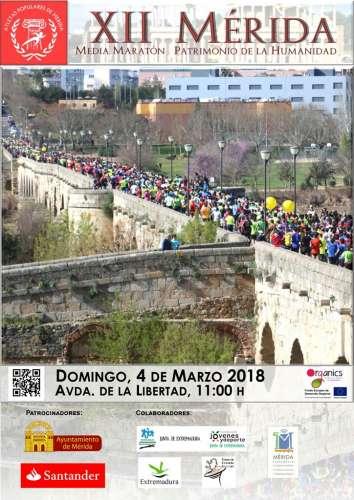 XII Media Maratón - Mérida Patrimonio de la Humanidad
