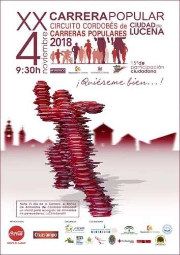 XX Carrera Popular Ciudad de Lucena