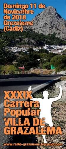 XXXIX Carrera Popular Villa de Grazalema