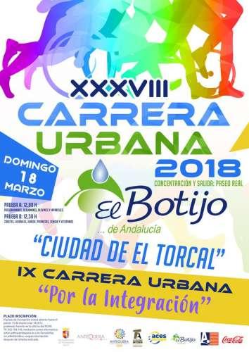 XXXVIII Carrera Urbana el Botijo Ciudad de El Torcal