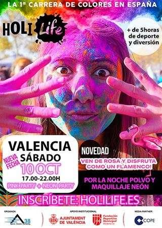 Holi Life Valencia 8th Edition 2021