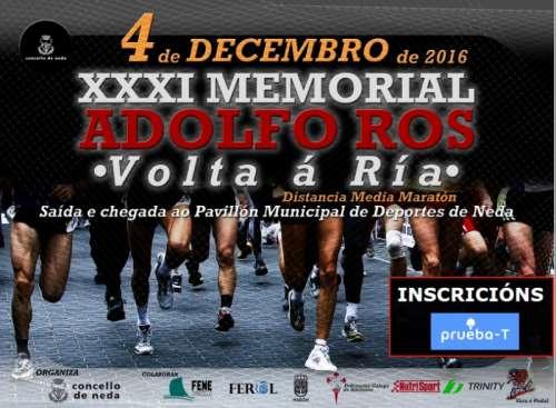 XXXI Memorial Adolfo Ros - Volta a A Ria