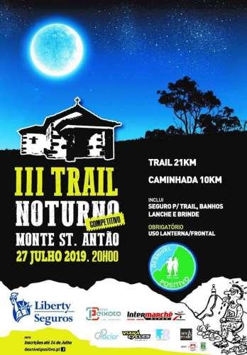 III Trail Nocturno Monte St. Antao
