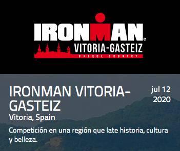 Carrera IRONMAN Vitoria-Gasteiz 2020