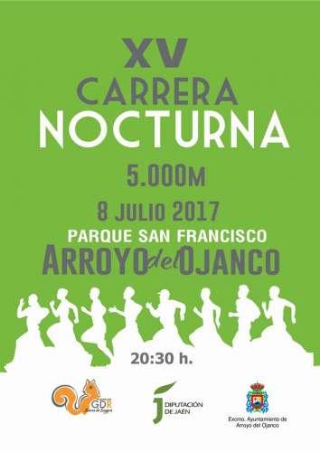XV Carrera Nocturna Arroyo del Ojanco