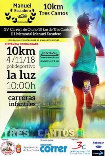 XV Carrera de Otoño 10km de Tres Cantos