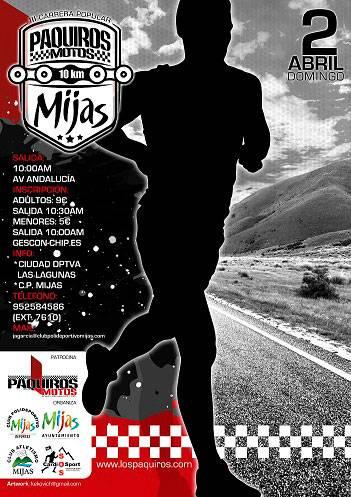 III Carrera Paquiros Motos Villa de Mijas