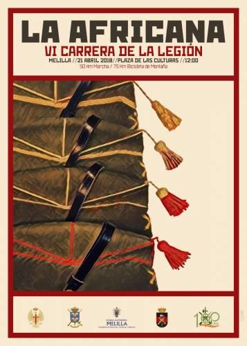 VI Carrera Africana de la Legión de Melilla