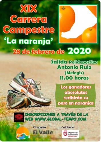 XIX Carrera Campestre La Naranja