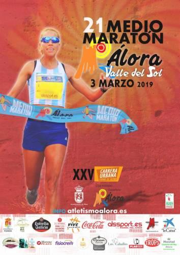 XXI Medio Maratón Álora Valle del Sol