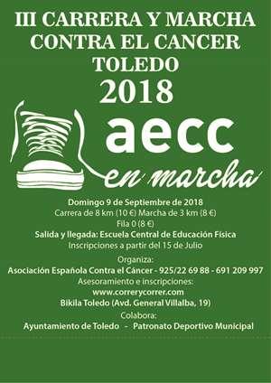 III Carrera y Marcha contra el Cáncer Toledo