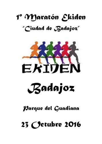 1ª Maratón Ekiden Ciudad de Badajoz