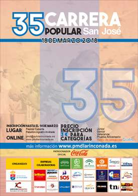 XXXV Carrera Popular de San José