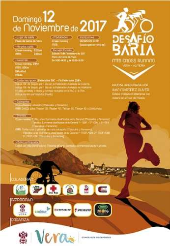 "I Mountain Bike-Cross Running ""Desafío Baria"""