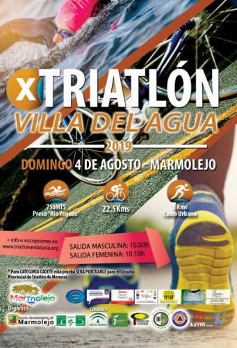 X Triatlón Villa del Agua